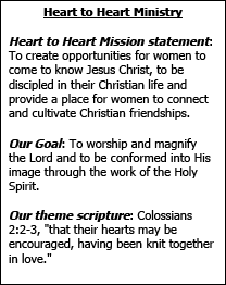 Heart to Heart Ministry